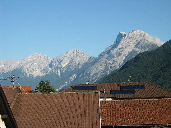 Gasthof zum Stollhofer: View from the room towards the west