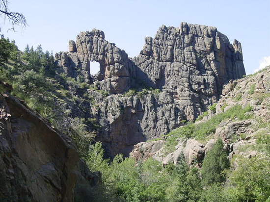 Cripple Creek, CO: Window Rock