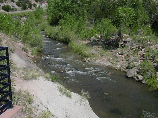 Shelf Road: Fountain Creek at Garden Park Fossil Area