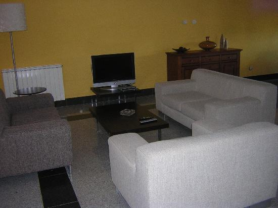 Hotel Meleiros: Sala de televisión