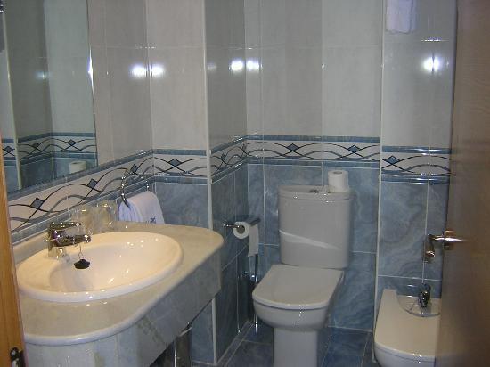 Hotel Meleiros: Baño