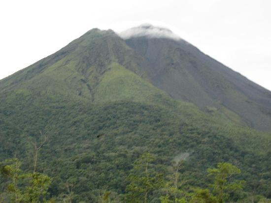 The Royal Corin Thermal Water Spa & Resort: View of the Arenal Volcano from the room