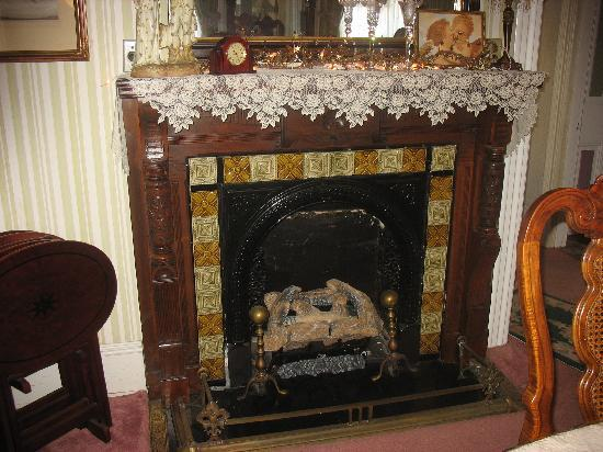 Angel of the Morning Bed and Breakfast: The Fireplace