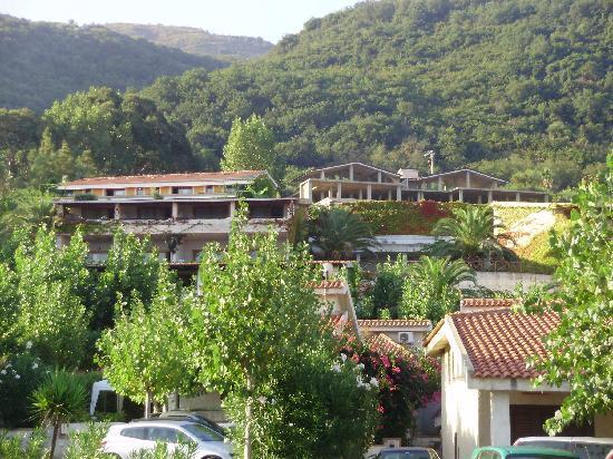 Villaggio La Vela Club Resort: la vista delle camere dal ristorante