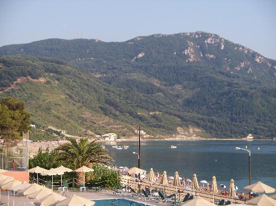 Hotel Costas Golden Beach: view from the balcony