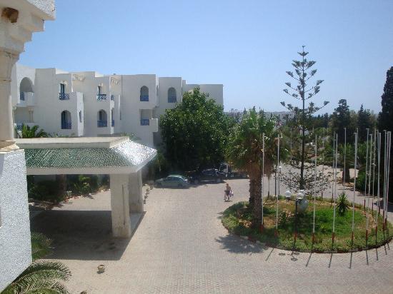 Hotel Albatros : vue de la chambre