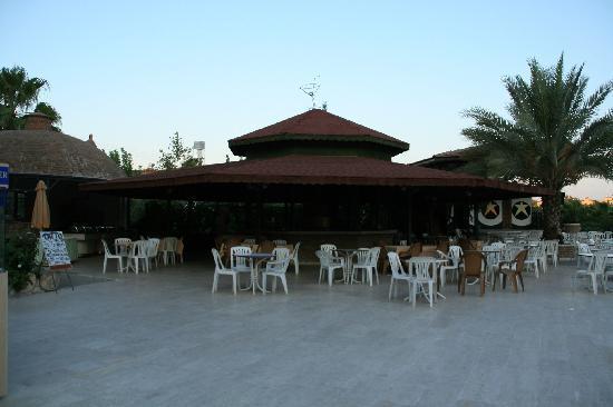 Corolla Hotel: bar de la piscine