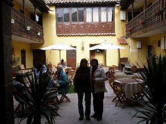 Hostal Quipu Cusco: El patio del hostal