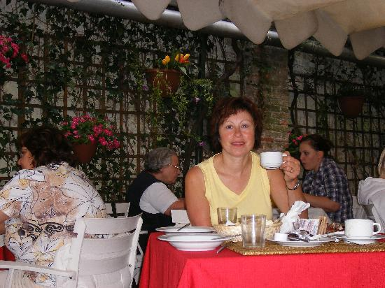 Hotel Locanda Salieri: restaurant for breakfast