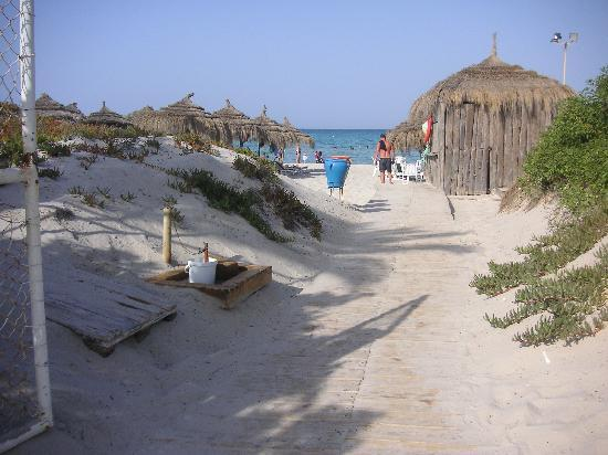 Vincci El Mansour: chemin de la plage