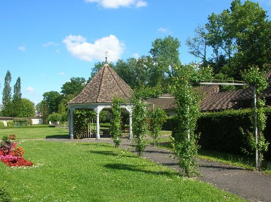 Diessenhofen, Thụy Sỹ: Pavillon zum Verweilen im Kloster St. Katharinental