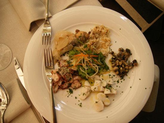 Ristorante Ribot: appetizer plate
