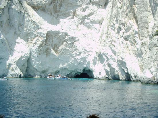 "Tsilivi Beach Hotel: One of the many ""blue"" caves ... beautiful"