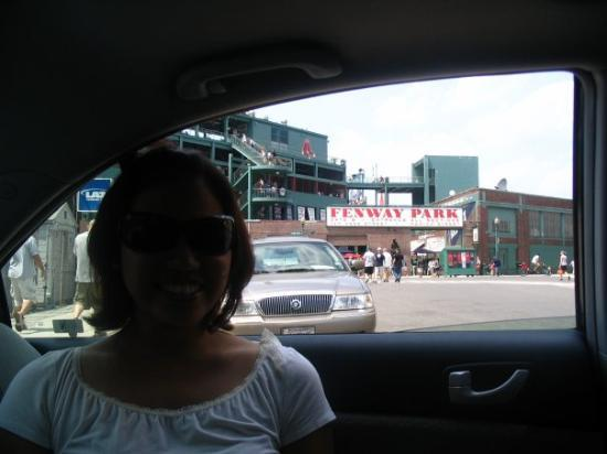Fenway Park: red sox game - we just passed by :)
