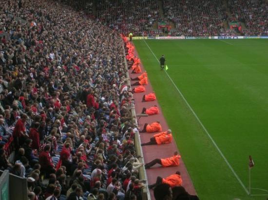 Anfield Stadium: Hvem sier at fotball ikke er avslappende?
