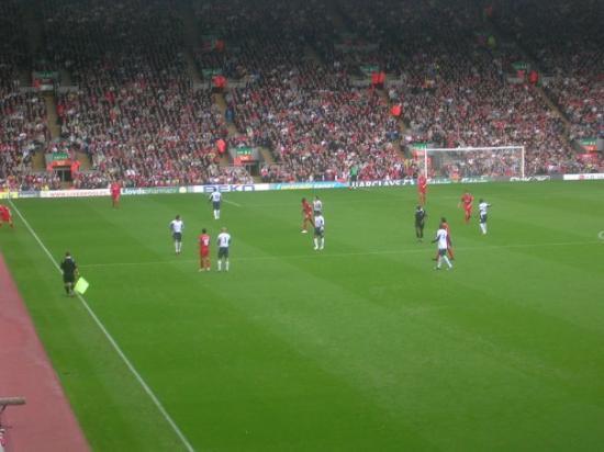 Anfield Stadium: Nå mangler bare ballen så er vi der.