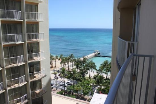 The Residences at Waikiki Beach Tower: View from Waikiki Beach Hotel