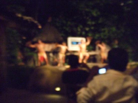 ไนท์ซาฟารี: Tribal dancing and fire and stuff at the Night Safari