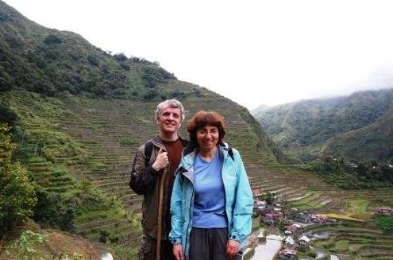 Banaue, ฟิลิปปินส์: At the Rice Terraces
