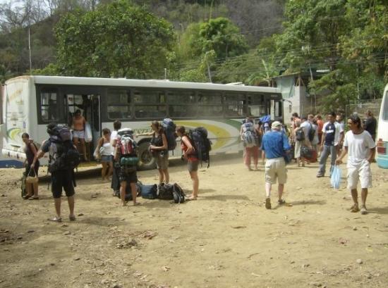 Montezuma, คอสตาริกา: backpacking
