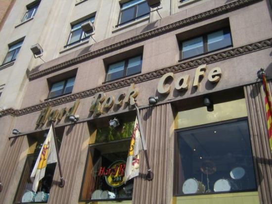 Hard Rock Cafe: Di giorno :S