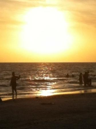 Anna Maria, ฟลอริด้า: Sunset on our last day!