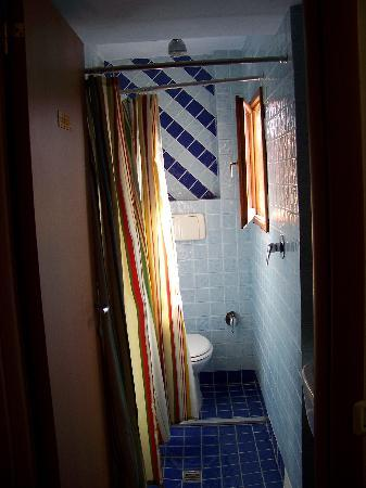 Bed & Breakfast San Lorenzo: Bathroom tunnel