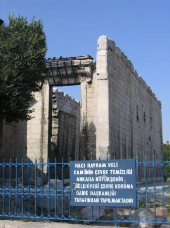 อังการา, ตุรกี: Augustus Tapınağı