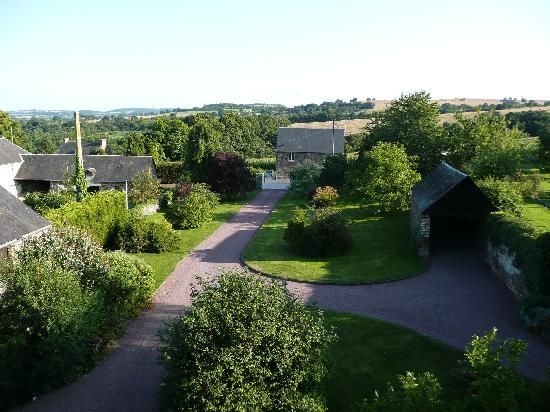 Culey Le Patry, France: View from bedroom