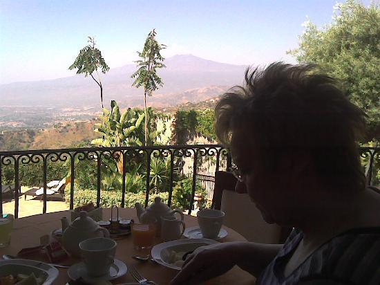 Hotel Villa Angela: Breakfast with a view