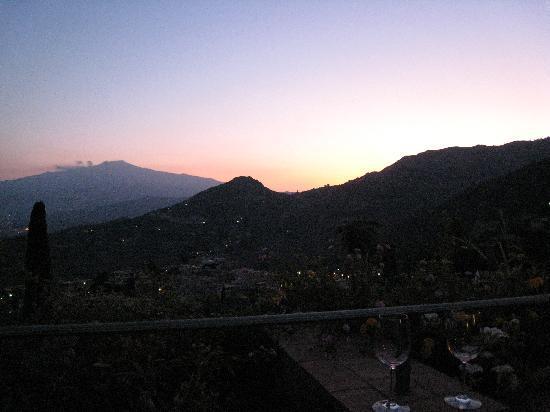 Hotel Villa Angela: One of many wonderful sunsets