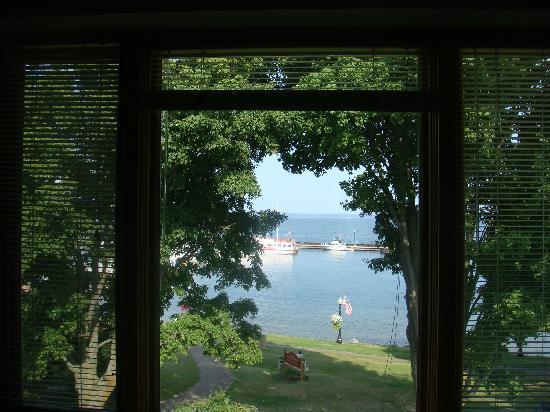 The Bayfield Inn: View from the room