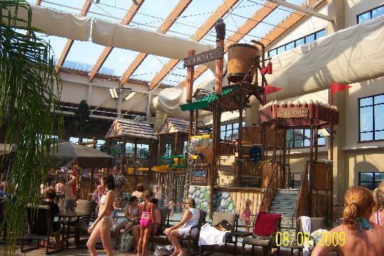 Indoor Water Park Area Picture Of Wilderness At The Smokies Resort