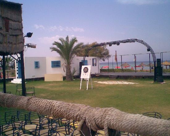 Hotel Golden Beach Monastir : lieu de dico
