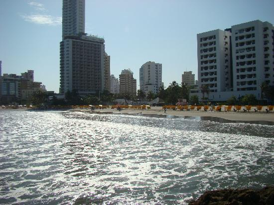 Hotel Cartagena Plaza : playa de cartagena