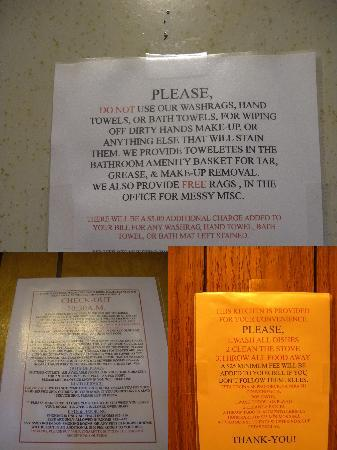 Walden, CO: signs