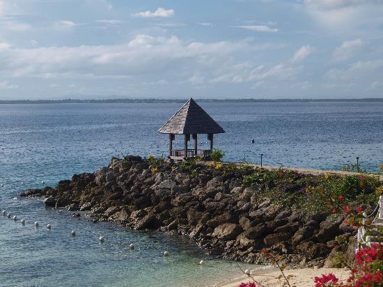 Shangri-La's Mactan Resort & Spa: Hier noch einmal das pavillion