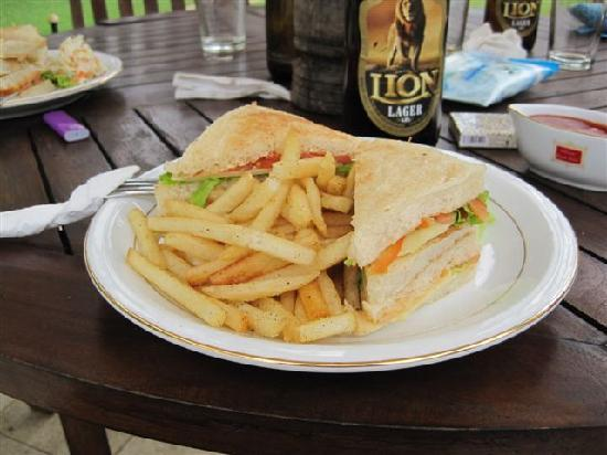 Hotel Hibiscus Beach: lunch