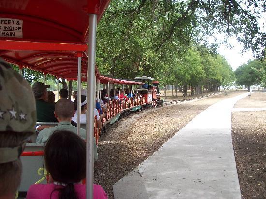 Landa Park Railroad