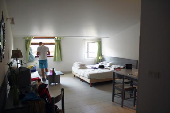 Residence San Roccu : La camera 416 vista dalla porta di ingresso