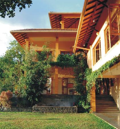 Fruechte satt in der Villa Rosa