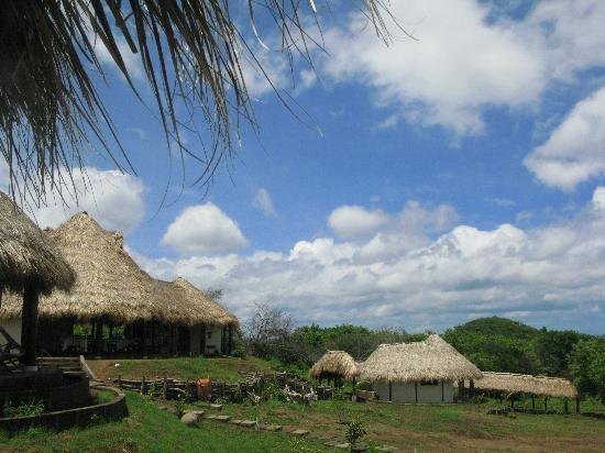 Las Plumerias Lodge and Surf: Le restaurant