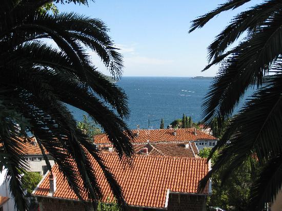 Belvedere Gregorian Restaurant : view from the patio