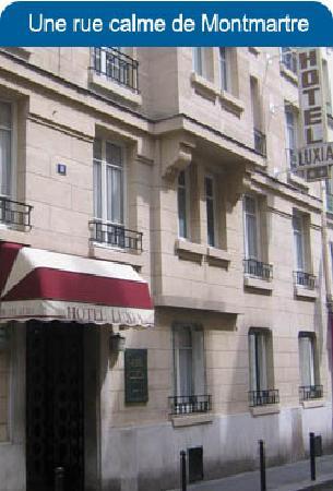 Hotel Luxia: une petite rue pleine de charmes