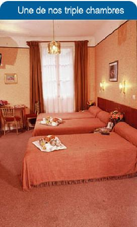Hotel Luxia: des chambres acceuillantes et calmes