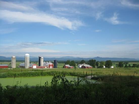 Bridport, VT: Countryside along Lovers Lane