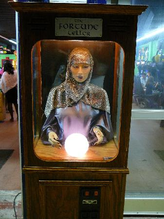 Virtual Fun Arcade & Playland: Fortune Teller at Playland Rehoboth Beach