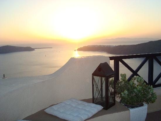 Afroessa Hotel: Sunset view
