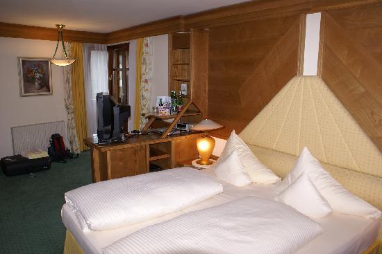 Alpenkönig Tirol Hotel: unser Zimmer