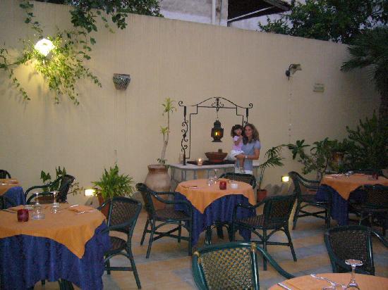 Zingaro Hotel: il romantico ristorantino